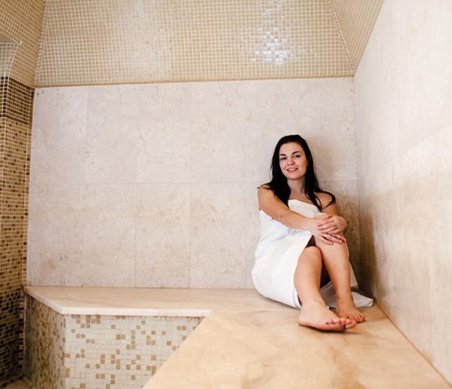 Процедуры в турецкой бане