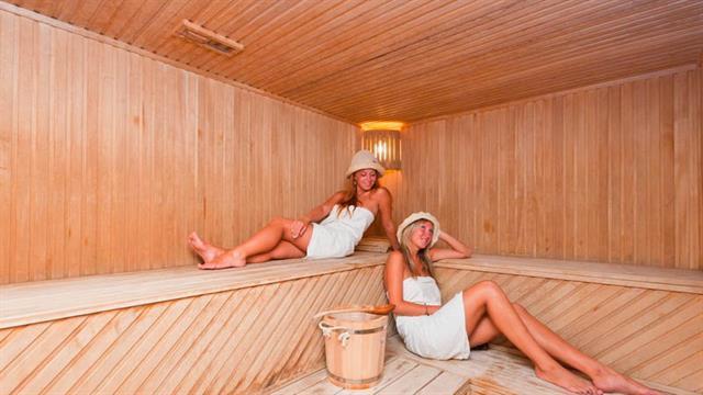 Сауна - финская баня в санатории